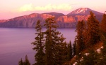 Sunset, Crater Lake National Park, Oregon, United States