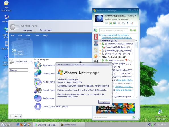 Windows Longhorn.