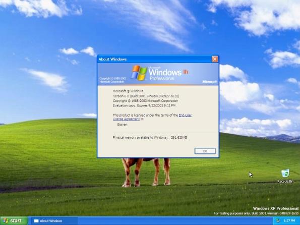 Windows Vista - Sobre o Windows.