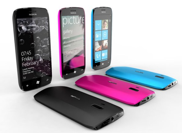 São protótipos bem elegantes e de cores vibrantes ...